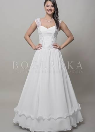 Miből készüljön az esküvői ruha?  A muszlin